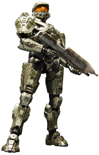 Details About Halo 4 Play Arts Kai Master Chief Figure Square Enix Ems 15 Japan
